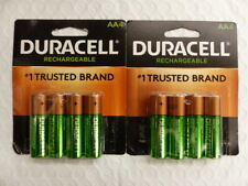 8 Duracell Rechargeable AA Batteries