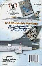 Es72078/Decals-f-16 Fighting Falcon-Países Bajos - 315 sqd. - twenthe - 1/72