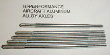 """5 Axles Hi-Per Alum 5:40 thread 1/8Slot Car 3""""- 2 7/8""""- 2 3/4"""" -2 5/8""""- 2 1/2"""""""