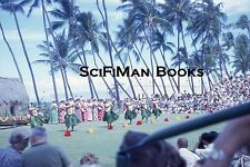 KODACHROME 35mm Slide Hawaii Oahu Honolulu Kodak Hula Show Waikiki Shell 1962!!!