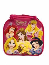 Disney Princesse Rose Vif Boîte à Déjeuner Sac à Repas et Sangle Réglable Isolé