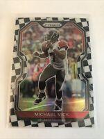 2020 Panini Prizm Football Michael Vick!! Black & White  Checkerboard RARE! !SSP