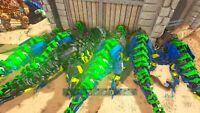 Ark Official Pve Xbox crazy color Tek Rex Fertilized Eggs x4! Parents in pic!
