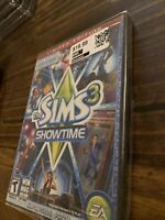 The Sims 3 Showtime Limited Edition Expansion Pack PC & MAC DVD-ROM New/Sealed