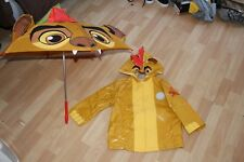 NUEVO CON ETIQUETA Niños Disney Tienda talla 3 Chaqueta Con Capucha Impermeable,