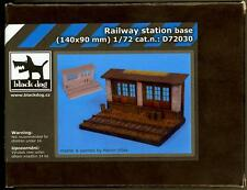 Blackdog Models 1/72 RAILWAY STATION Resin Diorama Base