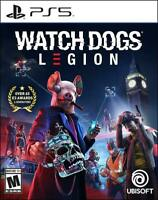 Watch Dogs: Legion  (Sony PlayStation 5 PS5) Watchdogs Brand New Sealed