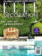 ELLE DECORATION UK #264 August 2014 The Art of Indulgence PIET OUDOLF @New@