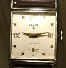 Running Lord Elgin Model 730 23j Men's Wrist Watch
