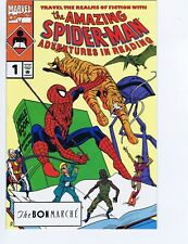 AMAZING SPIDERMAN ADVENTURES IN READING 1 RARE BON MARCHE VARIANT GIVEAWAY PROMO