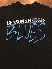 Vintage Benson & Hedges Blues Festival/ Cigarette Promo T-shirt - Med