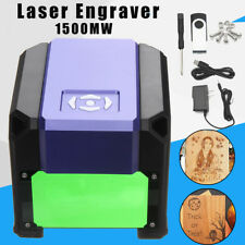 Eleksmaker 1500mW USB Laser Engraver DIY Logo Mark Printer Cutter Carver Machine