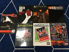 Lot of 7 Guitar Tab / Tablature Books - U2, Sublime, Green Day, 3 Doors Down +