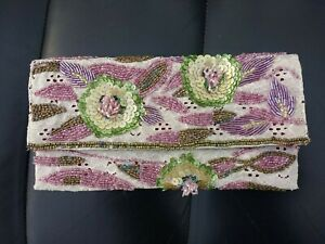 Accessorize Small Beaded Clutch Bag. - NWOT
