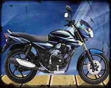 Bajaj Discover 125 09 01 A4 Metal Sign moto antigua añejada De