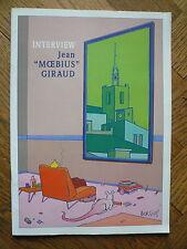 "Catalogue interview Jean""MOEBIUS""GIRAUD- 1997 -TBE"