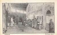 br104949 the bazaar basra  mesopotamia  iraq