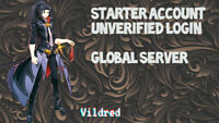 [Global Server]Epic Seven account 1 Nat 5 Vildred- Starter acc