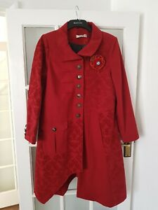JOE BROWNS  Wool Blend  Coat Steam Punk Gothic  Quirky size 14  great condition