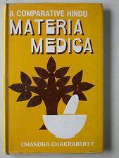 A comparative Hindu materia medica - Ch. Chakraberty - Médecine Hindoue