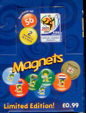 2 boxes of 2010 FIFA World Cup Soccer Magnet Tazos Box