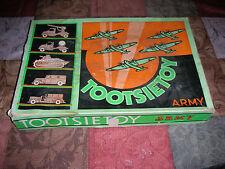 Rare Vintage Tootsietoy Army Toys,  Box Only.