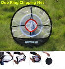 """A99 Golf Duo Ring Chipping Net 20"""" Portable Trainer Training Aid Indoor Outdoor"""