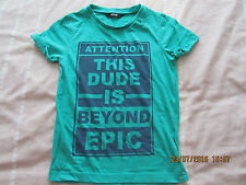 "George Green ""Beyond Epic"" Short Sleeved T-Shirt - 4-5 years - Exc Cond!!"