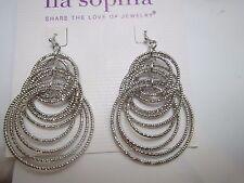 Lia Sophia Voltage Earrings in Silver color 1 Pair