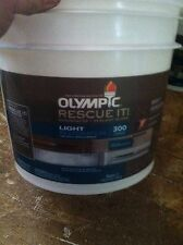 Olympic Rescue IT wood and concrete Resurfacer, 2.67Gallon UNTINTED Light