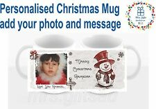 Personalized Christmas Mug,  add your photo and message, Christmas Gifts ideas