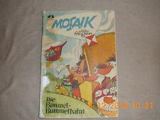 """Mosaik Digedag Hannes Hegen Nr. 3 """" Die Bimmel-Bummelbahn """""""