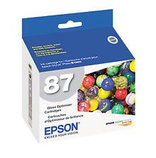 Genuine Epson 87 T0870 Gloss Optimizer Ink Cartridge for Stylus Photo R1900