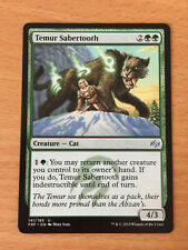 MTG 1x Temur Sabertooth Fate Reforged Green Forest Creature Magic the Gathering