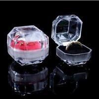 ring - ohrring lagerung klare acryl schmuckkästchen schaukasten veranstalter