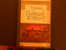 E.SALGARI-CARTAGINE IN FIAMME- VALLARDI-1923