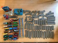 Huge Lot of Thomas and Friends Trackmaster Trains - Cranky, Water Tower, Lumber