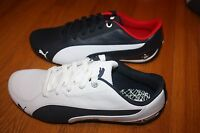 New In Box Men's PUMA BMW Drift Cat 5 NM2 Shoes WHITE or BLUE SHIP FREE US FAST