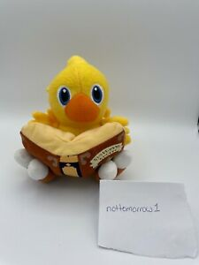 Final Fantasy Chocobo with Book Plush - AUTHENTIC