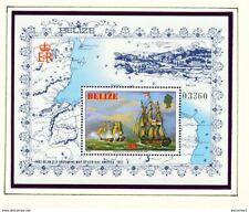 More details for belize - 1981 ships miniature sheet um