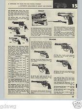 1957 PAPER AD Hubley Kilgore Cowboy Cap Gun Pistol Dragnet Jack Webb Badge 714