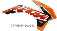 NEW OEM KTM 125/200//250/300/350/450/500 SX/XCW/XCFW/EXCF 2013-16 SPOILER KIT