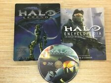 HALO Legends Blu-ray  Steelbook  Best Buy EXCLUSIVE WORKS PERFECT + ENCYCLOPEDIA