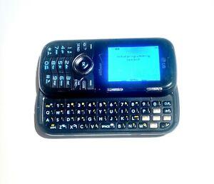 LG   LG-VN251  Black Cosmos Verizon Slider Cellular Phone Super Fast Shipping