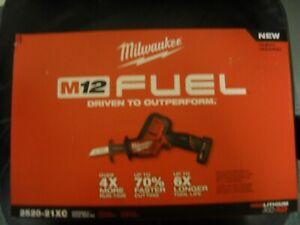 Milwaukee 2520-21XC 12-Volt Brushless Cordless HACKZALL Reciprocating Saw NEW