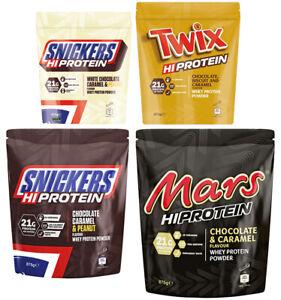 Mars Protein - Mars/Snickers/Twix/Bounty/M&M's Hi Protein Pulver 875 g Eiweiß