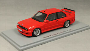 Spark BMW M3 E30 Sport Evolution in Red 1990 S8003 1/43 NEW 2021 Release