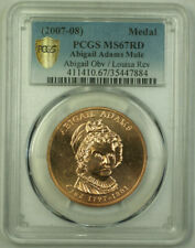 (2007-08) Abigail Adams Mule First Lady Medal Louisa Reverse PCGS MS-67 RD