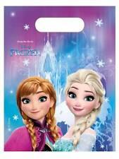 LA REGINA DEI GHIACCI 6 Borse FESTA CONI pacchetto regalo Disney Frozen