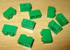 Lego 1 x Stein hohe  Platte 6212 grün 4x10